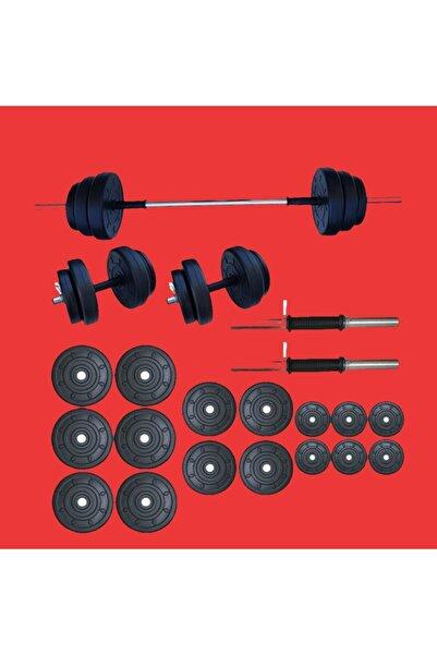 Moccastyle 85 Kğ Moccadiamond 85 Kg Halter Seti Dambıl Seti Ağırlık Ve Vücut Geliştirme Aleti 85 Kg