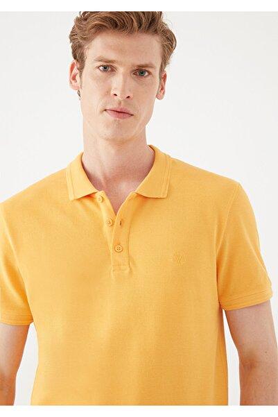 Mavi Erkek Hardal Polo Tişört