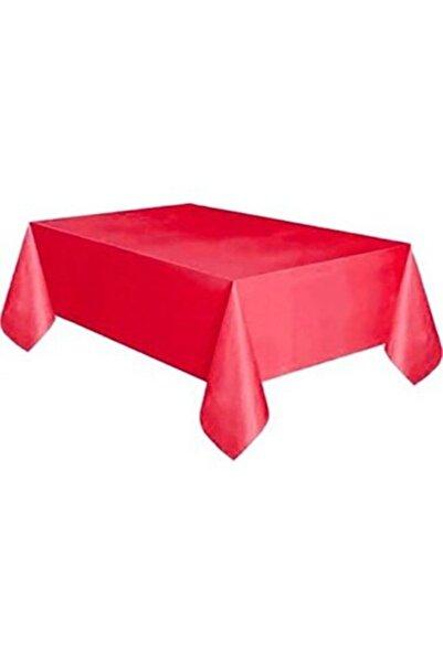 YERLİ MALI Kullan At Kırmızı Masa Örtüsü