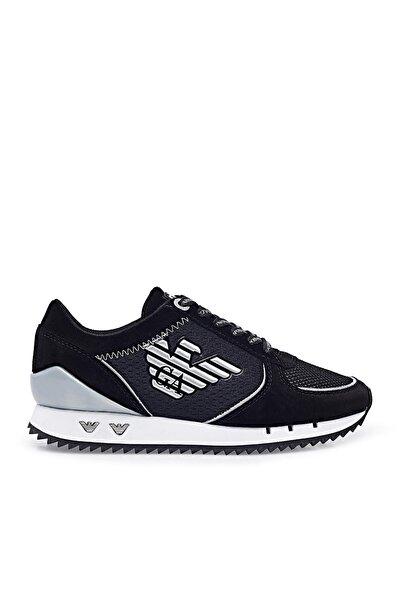 EA7 Kadın Siyah Ayakkabı X7x005 Xk210 N629