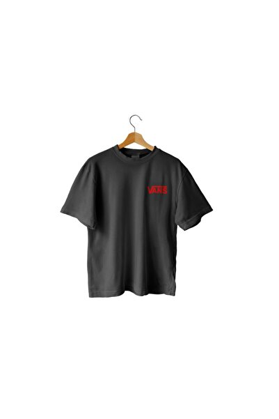 Vans Unisex Siyah Oversize T-shirt