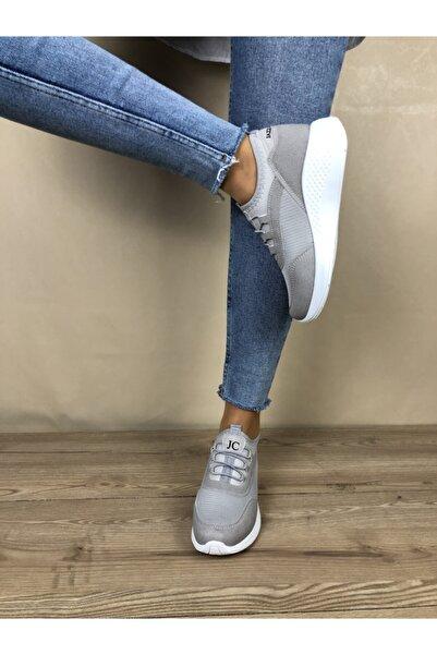 ENOLA Kadın Gri Spor Ayakkabı