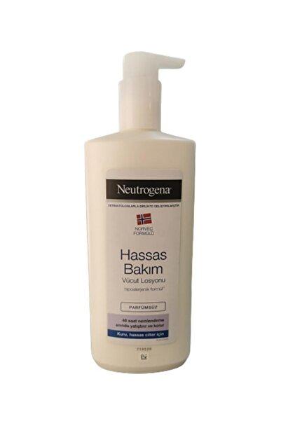 Neutrogena Hassas Bakım Parfümsüz Vücut Losyonu 400 ml
