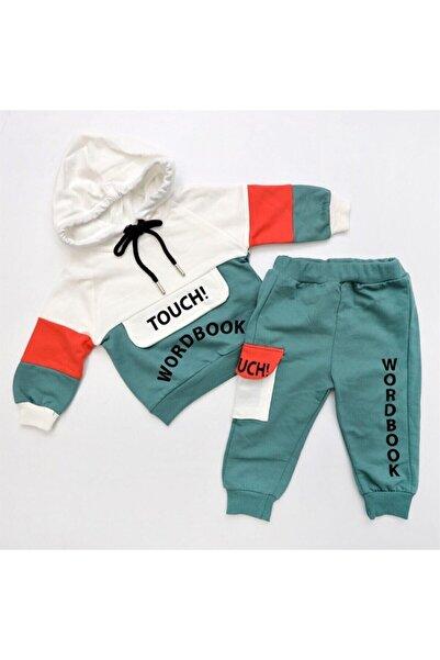 Hippıl Baby 2'li Kapüşonlu Tarz Bebek Takım Yeşil
