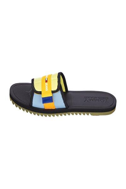 Tommy Hilfiger Erkek Mavi Sandalet EM0EM00681