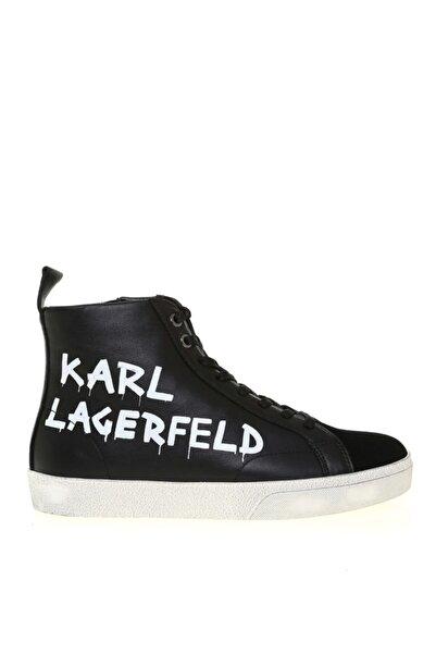 Karl Lagerfeld Kadın Skool Brush Logo Hi Sneaker