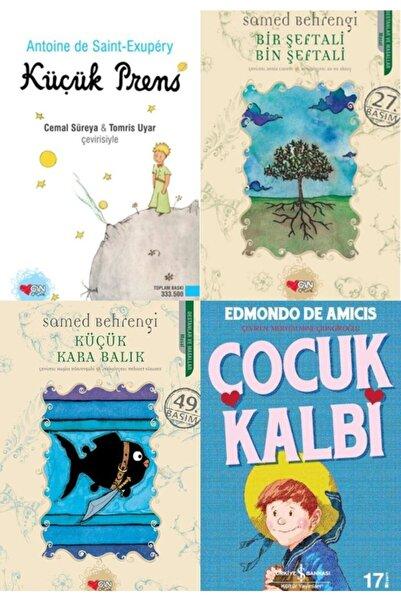 İş Bankası Kültür Yayınları En Çok Okunan 4 Gençlik Kitapları Seti- Küçük Prens- Çocuk Kalbi-küçük Kara Balık-bir Şeftali
