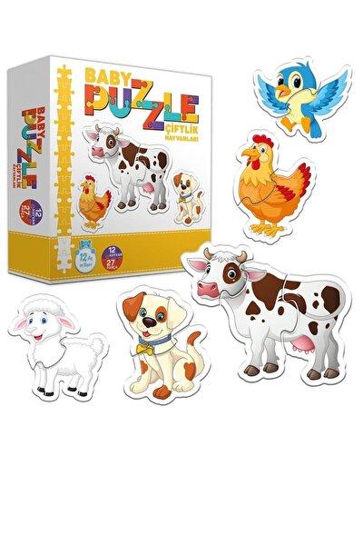 Circle Toys Baby Puzzle Çiftlik Hayvanları - Bebeğimin Ilk Puzzle Seti