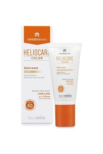 Heliocare Color Spf 50 Gelcream Light 50ml