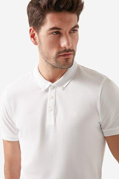 Mavi Beyaz Polo Tişört