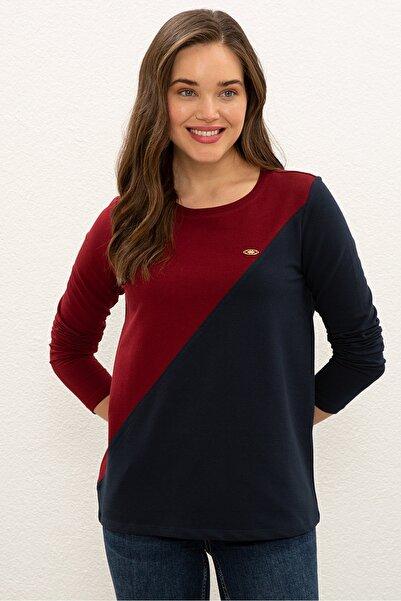 U.S. Polo Assn. Lacıvert Kadın Sweatshirt