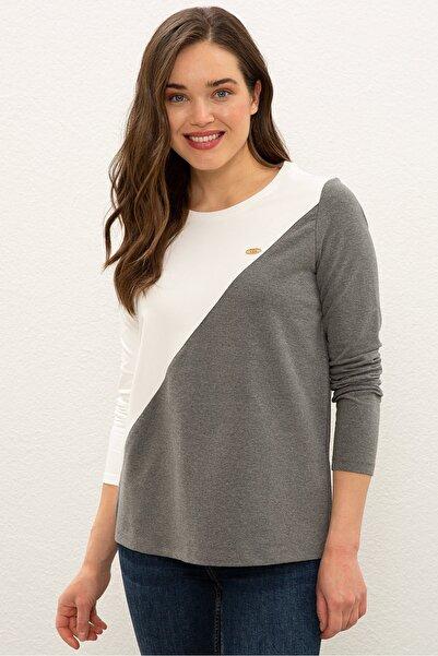 U.S. Polo Assn. Grı Kadın Sweatshirt