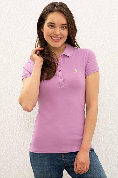 U.S. Polo Assn. Mor Kadın T-Shirt