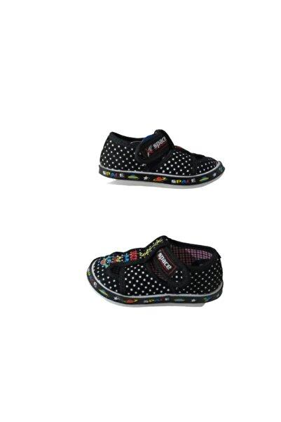 Space Sp046-010 Erkek Siyah Ultra Hafif Bez Günlük Sandalet