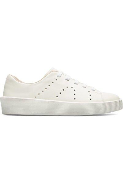 CAMPER Kadın Beyaz Sneaker K200828-031 Courb White Natural
