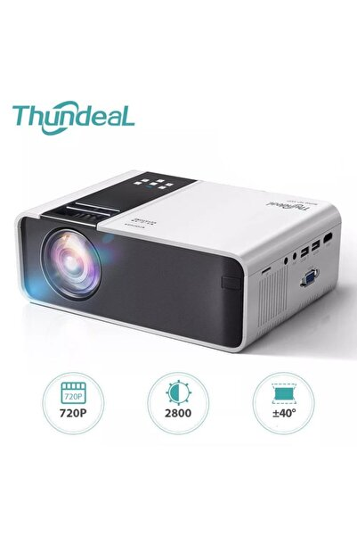 exeo Thundeal Td90 Miracast 720p Taşınabilir 2800 Lümen Led Projektör