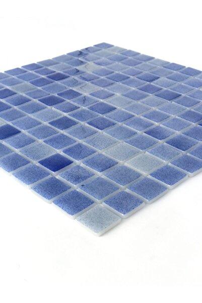 Orient Havuz Için Cam Mozaik 25x25