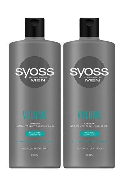 Syoss Men Volume Kalın Ve Gür Görünümlü Saçlar Şampuan 500 ml 2'li