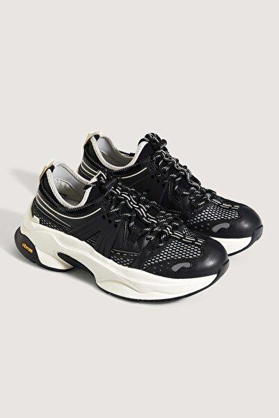 Oysho Kadın  Siyah Vibram Spor Ayakkabı