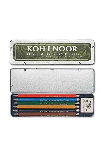 Koh-i Noor 5217 2.0 mm 6 Renk Portmin Versatil Kalem Seti