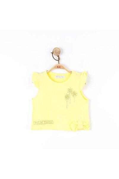 NK Kız Çocuk Sarı Palm Bluz 1-7  36435