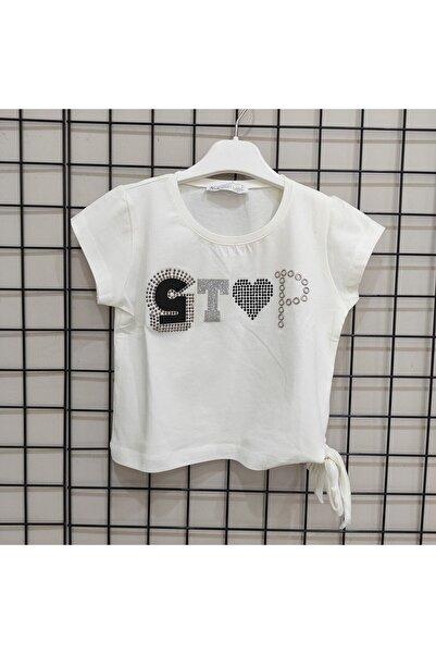 nk kids Kızbeli Bağlamalı Tshirt