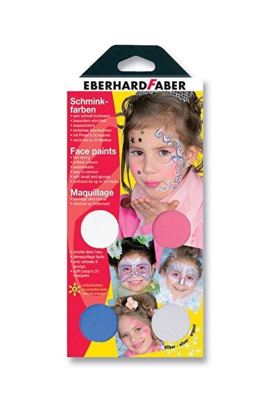 """Faber Castell """"Eberhard Faber 579002 Yüz Boyama Seti """"""""Girly"""""""" 4 /"""