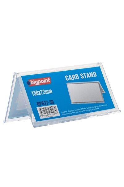 Bigpoint Kart Standı Çift Taraflı 150x72mm