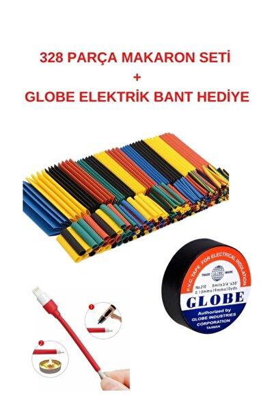 beeNEO Isı Shrink Boru Daralan Makaron Kablo Yalıtım Set-328 Adet
