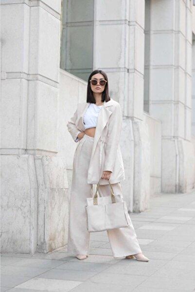 Shule Bags Kadın Everyday Bag Milano Krem
