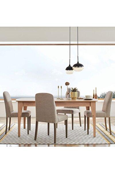 Enza Home Sona Yemek Masası (sabit)