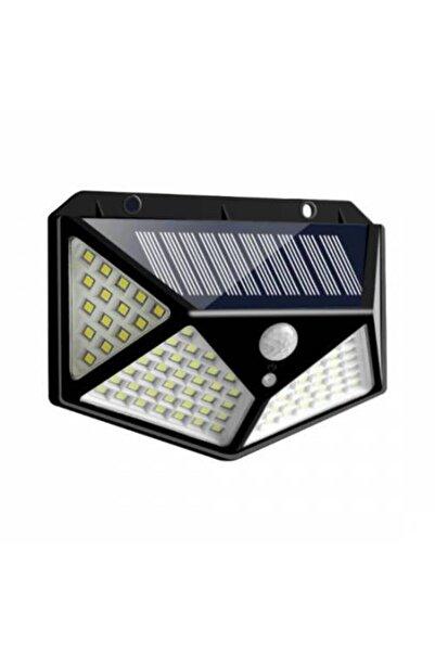 güneş enerjisi Güneş Enerjili Lamba Led Sokak Dış Ortam Solar Bahçe Aydınlatması Su Geçirmez Sensörlü (100 Led)
