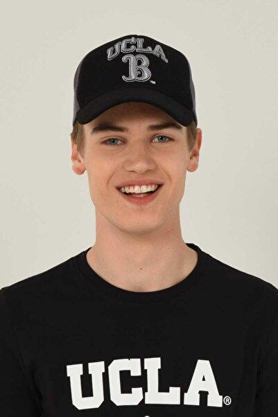 UCLA Malıbu Siyah Baseball Cap Nakışlı Şapka