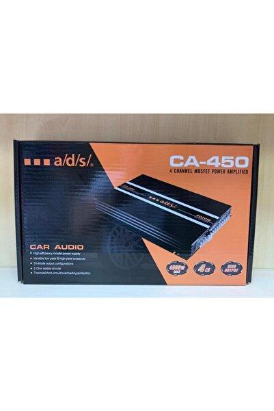 ADS Ca-450 4000 Watt 4 Kanal Stereo Amfi