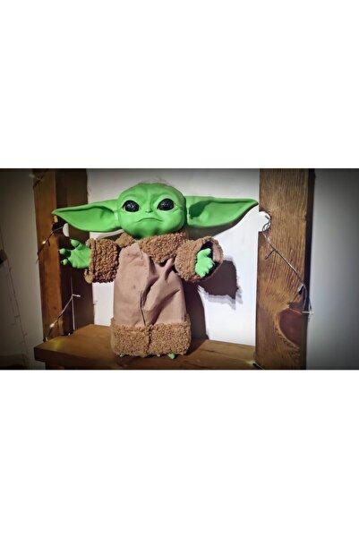 GoodPeople The Mandalorian Baby Yoda Büyük 40cm Figür El Yapımı Kıyafetli Hareket Ettirilebilir Star Wars
