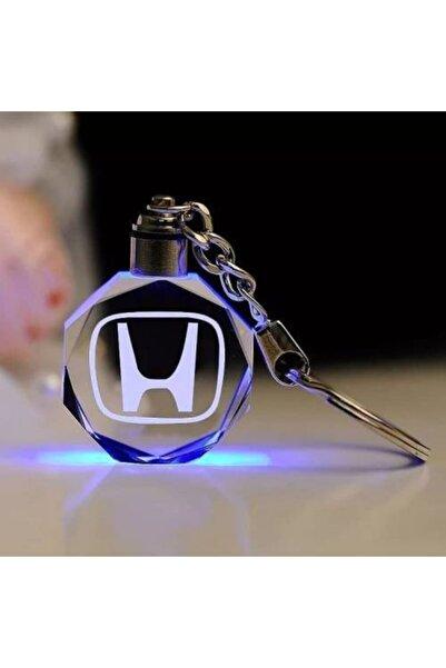 Honda Işıklı Anahtarlık 2021 Yılının Popüler Ürünü Şık Car Keychain Oto Araba Motor Şık Aksesuar