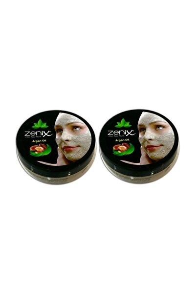 Zenix Argan Yağlı Kil Maske 350 Gr 2 Adet
