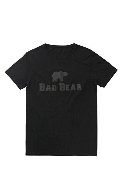 Bad Bear Siyah Erkek Tişört Tee Nıght 19.01.07.002-c01