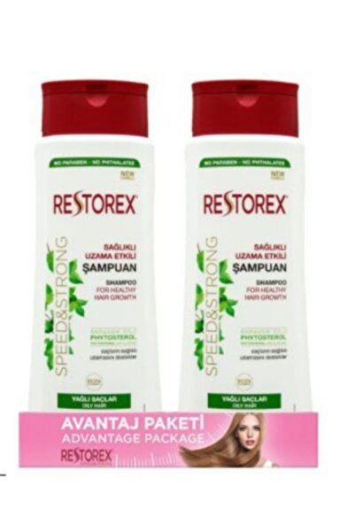 Restorex Yağlı 1-1 Şampuan 500 ml