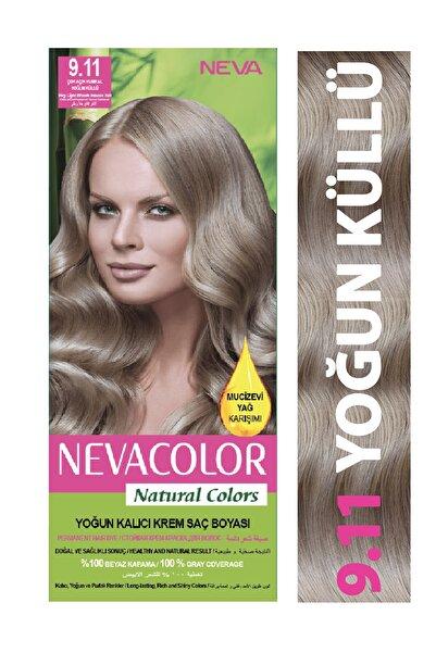 Neva Color Saç Boyası Seti 9.11 Çok Açık Kumral Yoğun Küllü  8698636612005