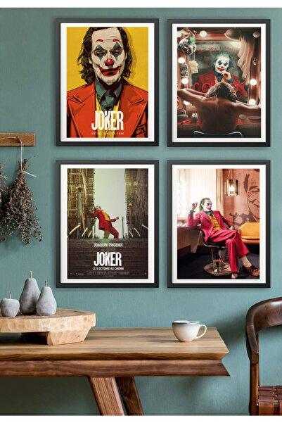 Mia Pera 4 Lü Poster Set Joker Joaquin Phoenix Afiş (17,5 X 25 CM)