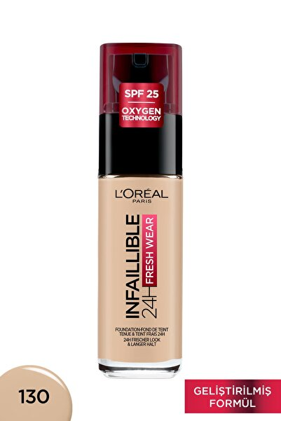 L'Oreal Paris Infaillible 24H Fondöten 130 TRUE BEIGE