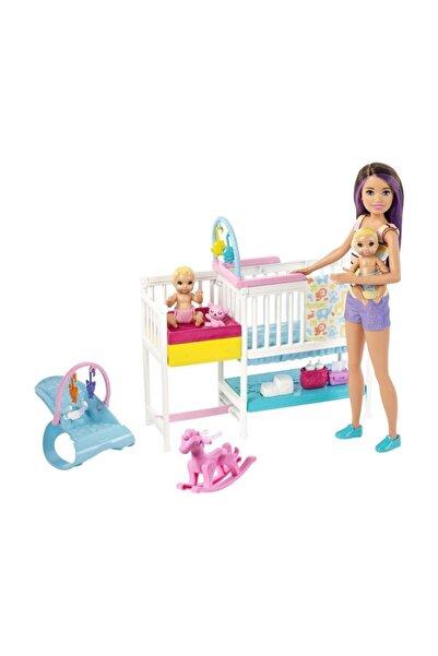 Barbie Bebek Bakıcısı Skipper Uyku Eğitiminde Oyun Seti GFL38-GFL38