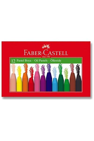 Faber Castell Pastel Boya 12 Renk Karton Kutu