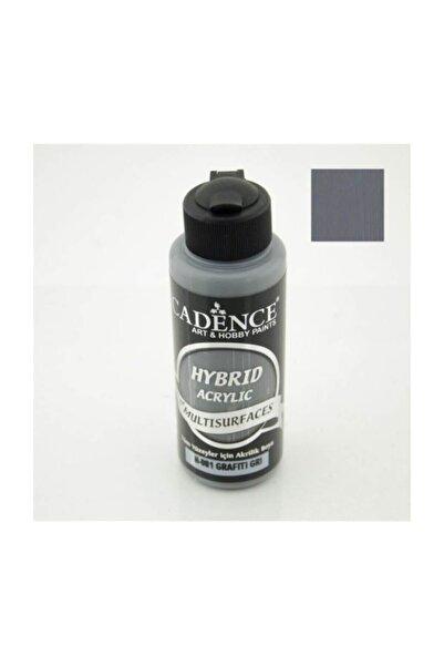 Cadence Hybrid Multisurface Akrilik Boya 120 ml. H-081 Grafiti Gri