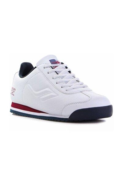 Lescon Unisex Beyaz Günlük Spor Ayakkabı