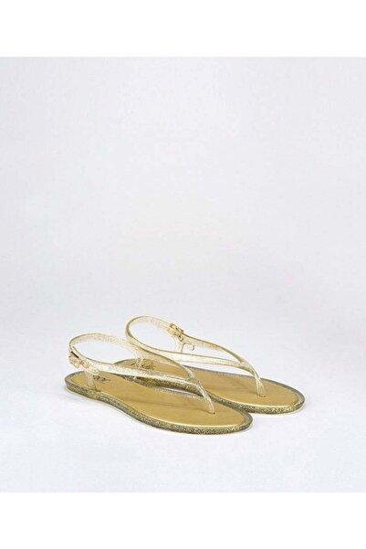 IGOR Kadın Altın Rengi Düz Topuklu Sandalet S10208