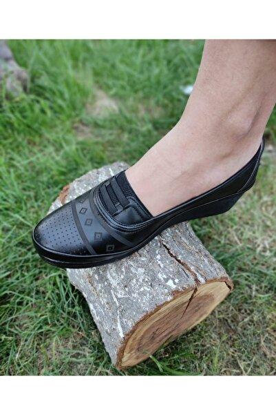 Annamaria Kadın Siyah Ortopedik Ayakkabı