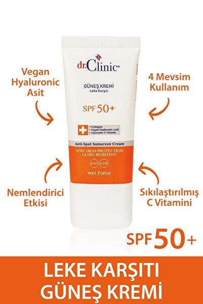 Dr. Clinic Leke Karşıtı Güneş Koruyucu Krem 50+ 40 ml