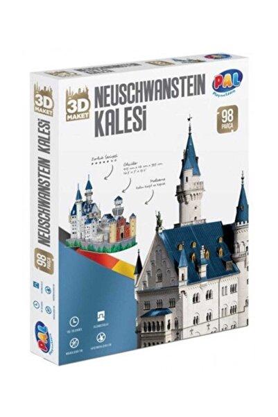 Pal Neuschwanstein Kalesi 3D Puzzle